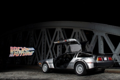 DeLorean LightPainting